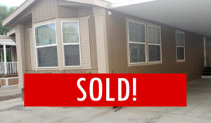 Space #120 – SOLD – Near Pools, Spacious Inside & Outside