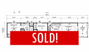 Space #150 – SOLD! – NEW Home on Ramp Road