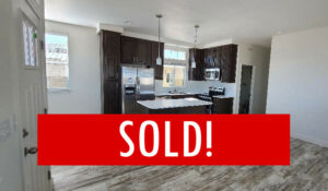 Space #32 – SOLD – New Home Just Arrived!