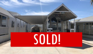 Space #140 – SOLD – Just the right size Tiny Home!